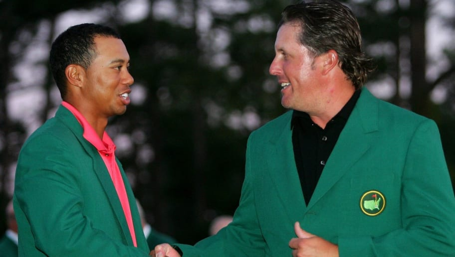 Phil Mickelson,Tiger Woods
