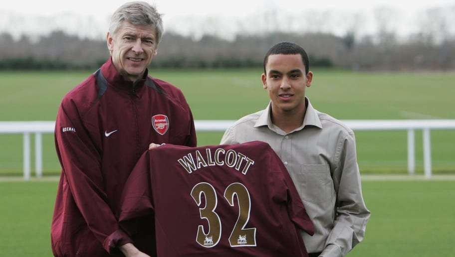 Theo Walcott,Arsene Wenger