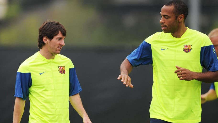 Thierry Henry Names His Ideal Five-a-side Team; Leaves Lionel Messi Out
