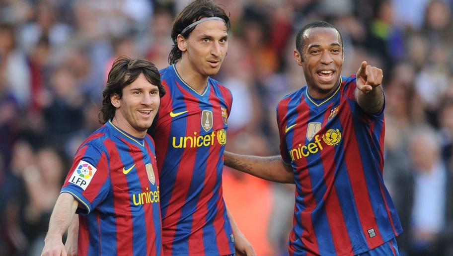 Lionel Messi,Thierry Henry,Zlatan Ibrahimovic