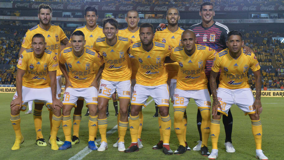 bc86b286b8e MONTERREY, MEXICO - AUGUST 22: Players of Tigres pose prior the 6th round  match