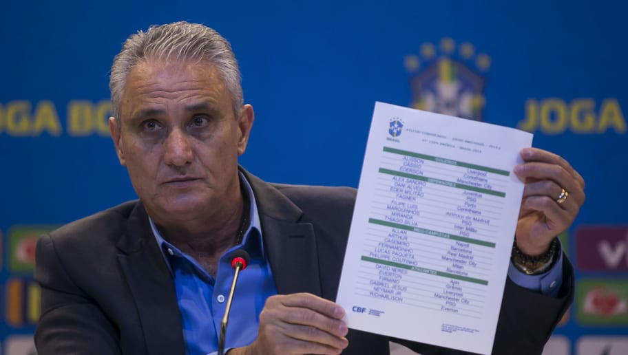 Tite Announces Brazilian Squad for Copa America 2019 - Press Conference