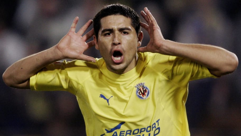 "TO GO WITH AFP STORY ""Riquelme n'est plu"