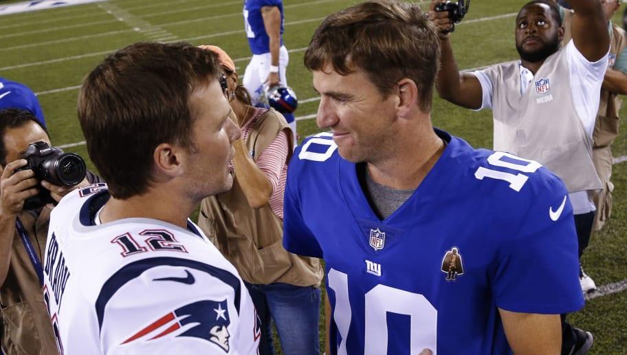 Eli Manning,Tom Brady