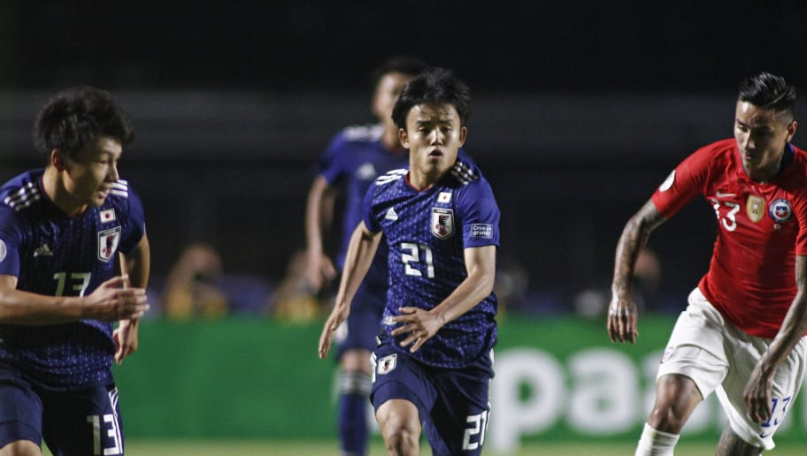TOPSHOT-FBL-COPA AMERICA-2019-JPN-CHI