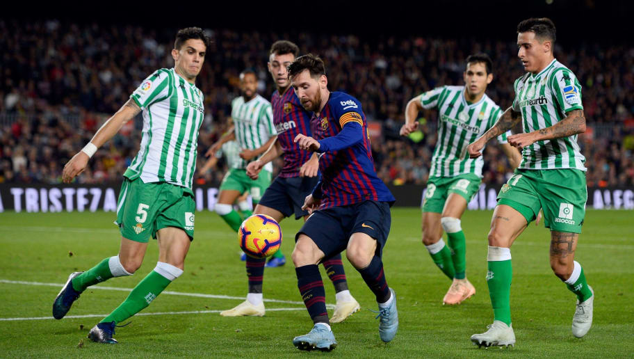 Topshot Fbl Esp Liga Barcelona Betis
