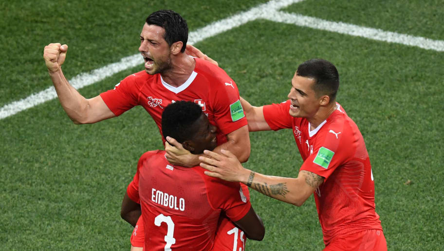 097d5a2fe Switzerland 2-2 Costa Rica  Player Ratings as Switzerland Book Their Place  in the Round of 16