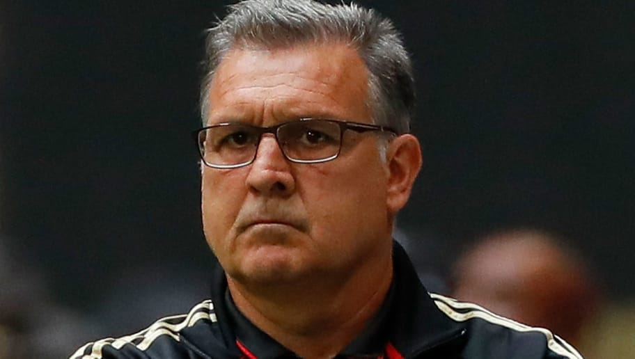 ATLANTA, GA - OCTOBER 22:  Head coach Gerardo Martino of the Atlanta United looks on during the match against the Toronto FC at Mercedes-Benz Stadium on October 22, 2017 in Atlanta, Georgia.  (Photo by Kevin C. Cox/Getty Images)