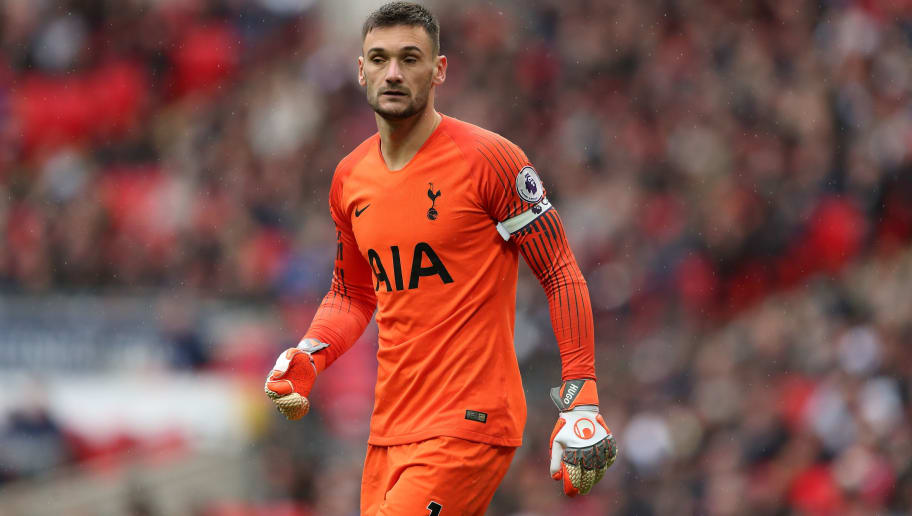 LONDON, ENGLAND - OCTOBER 06: Hugo Lloris of Tottenham during the Premier League match between Tottenham Hotspur and Cardiff City at Tottenham Hotspur Stadium on October 6, 2018 in London, United Kingdom. (Photo by James Williamson - AMA/Getty Images)