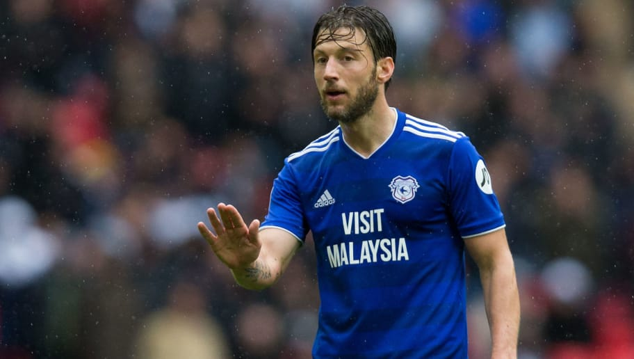 LONDON, ENGLAND - OCTOBER 06: Harry Arter of Cardiff City during the Premier League match between Tottenham Hotspur and Cardiff City at Tottenham Hotspur Stadium on October 6, 2018 in London, United Kingdom. (Photo by Craig Mercer/MB Media/Getty Images)