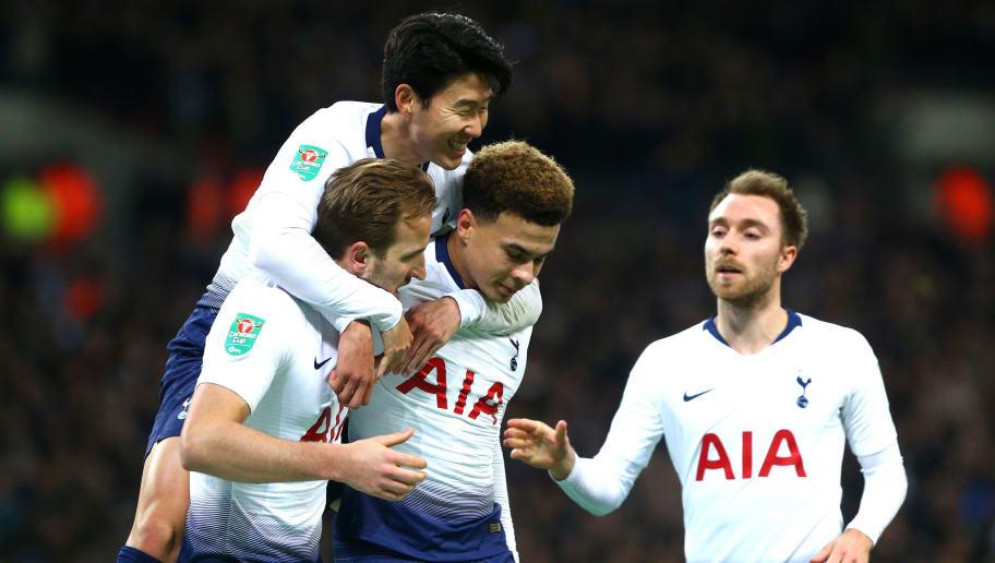 Tottenham Hotspur v Chelsea - Carabao Cup Semi Final First Leg