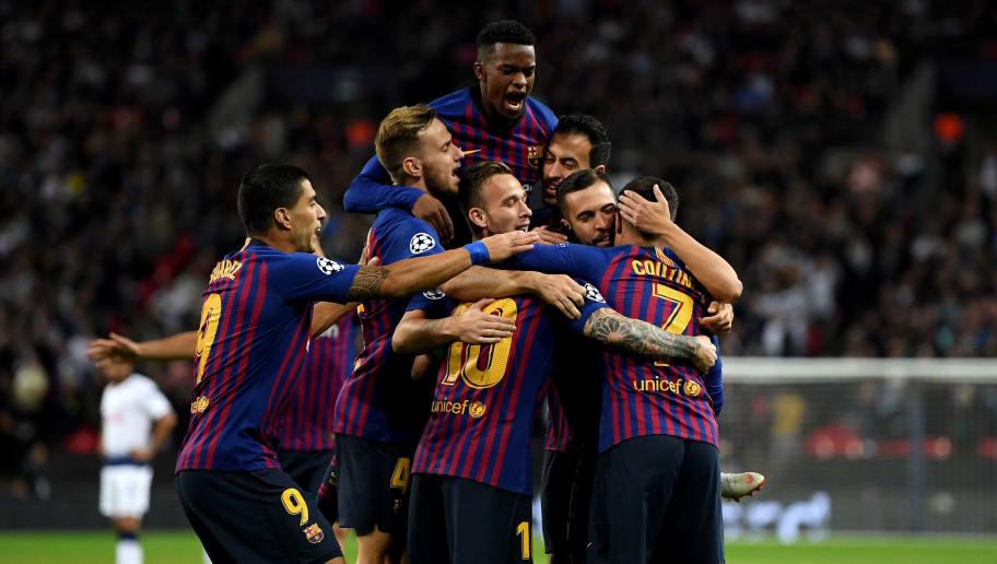 Philippe Coutinho,Luis Suarez,Lionel Messi,Ivan Rakitic