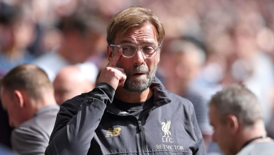LONDON, ENGLAND - SEPTEMBER 15: Liverpool manager \ head coach Jurgen Klopp during the Premier League match between Tottenham Hotspur and Liverpool FC at Wembley Stadium on September 15, 2018 in London, United Kingdom. (Photo by James Williamson - AMA/Getty Images)