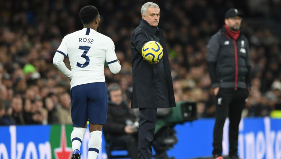 Jose Mourinho Dismisses Talk of Bust-Up With Danny Rose During Tottenham Training