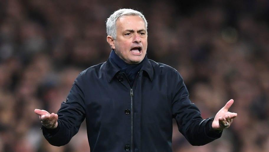 José Mourinho Facing 'Growing Unrest' Among Tottenham Players Over Tactics & Public Antics