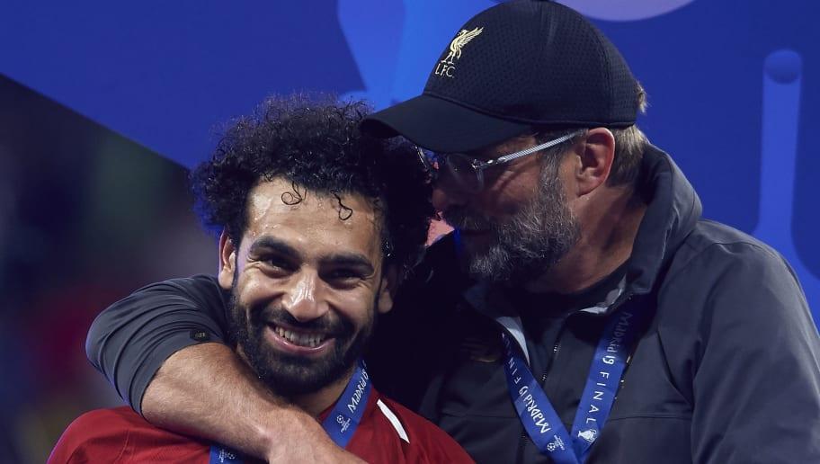 Jurgen Klopp,Mohamed Salah