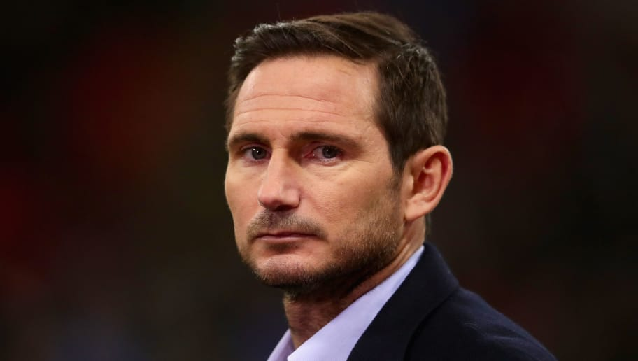 LONDON, ENGLAND - JANUARY 31:  Frank Lampard looks on before the Premier League match between Tottenham Hotspur and Manchester United at Wembley Stadium on January 31, 2018 in London, England.  (Photo by Chris Brunskill Ltd/Getty Images)