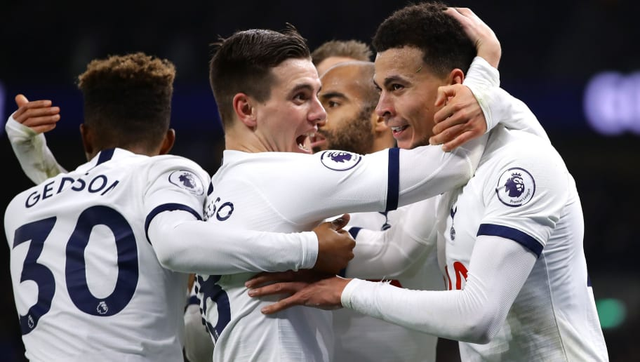 Dele Alli,Giovani Lo Celso,Lucas Moura,Gedson Fernandes
