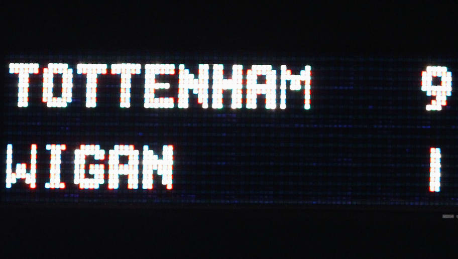 Tottenham Hotspur v Wigan Athletic - Premier League
