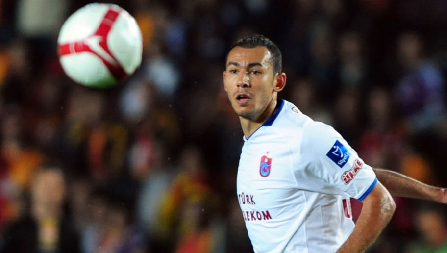 Trabzonspor Umut Bulut is pictured at th