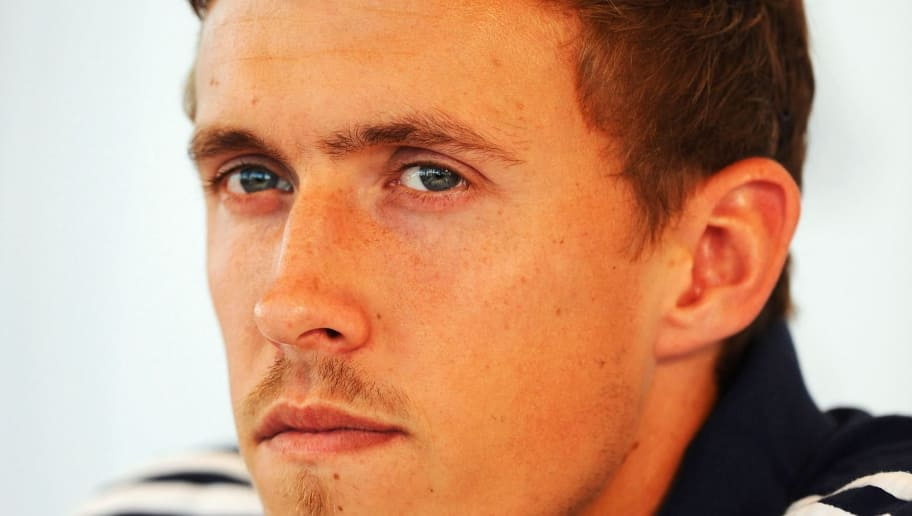 MUNICH, GERMANY - SEPTEMBER 03:  Max Kruse attends a press conference held by the German national football team on September 3, 2013 in Munich, Germany.  (Photo by Daniel Kopatsch/Bongarts/Getty Images)