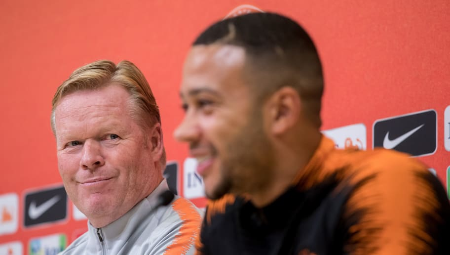 Ronald Koeman Believes Memphis Depay Playing for a Bigger Club Than Lyon Will Help Netherlands