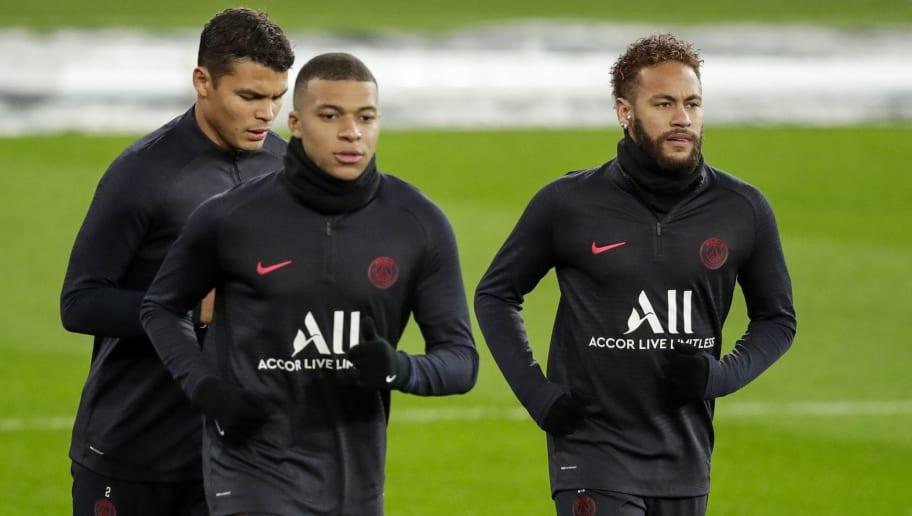 Kylian Mbappe,Neymar Jr,Thiago Da Silva