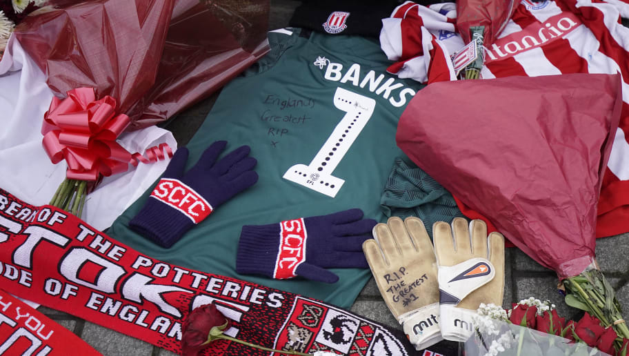 Tributes Are Made To 1966 World Cup Goalkeeper Gordon Banks