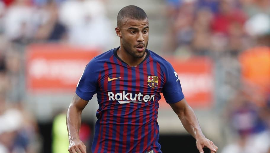 Rafinha of FC Barcelona during the Trofeu Joan Gamper match between FC Barcelona and Boca Juniors at the Camp Nou stadium on August 15, 2018 in Barcelona, Spain(Photo by VI Images via Getty Images)
