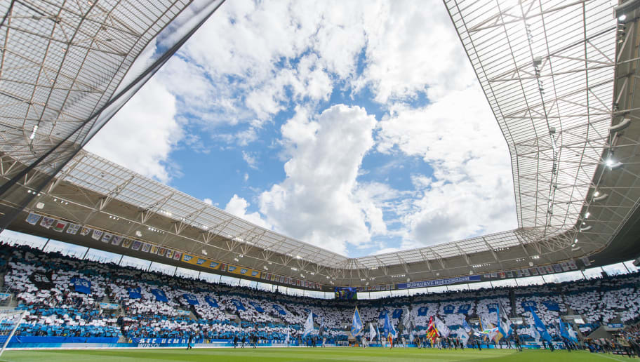 SINSHEIM, GERMANY - MAY 20: A general view prior to the Bundesliga match between TSG 1899 Hoffenheim and FC Augsburg at Wirsol Rhein-Neckar-Arena on May 20, 2017 in Sinsheim, Germany. (Photo by Daniel Kopatsch/Bongarts/Getty Images)