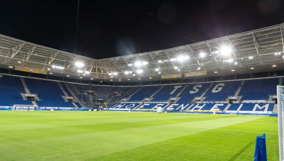 Innenansicht vom leeren Stadion