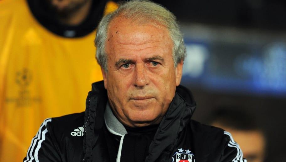 Turkey 's Besiktas manager Mustafa Deniz