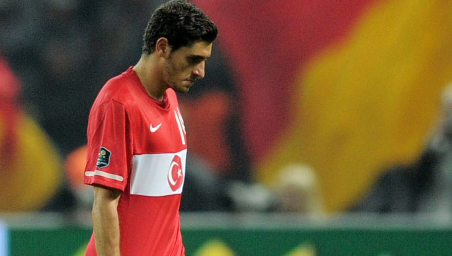 Turkey's midfielder Ozer Hurmaci leaves
