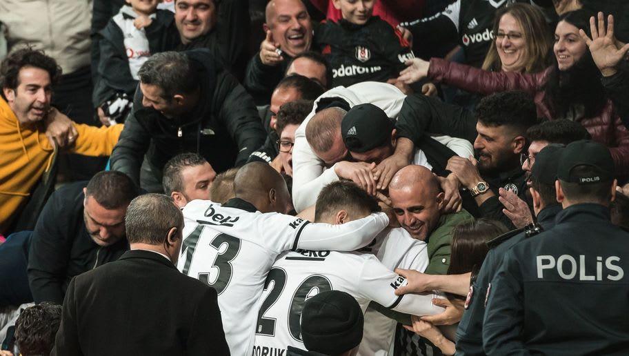 """Turkish Spor Toto Super Lig""""Besiktas AS v Medipol Basaksehir FK"""""""