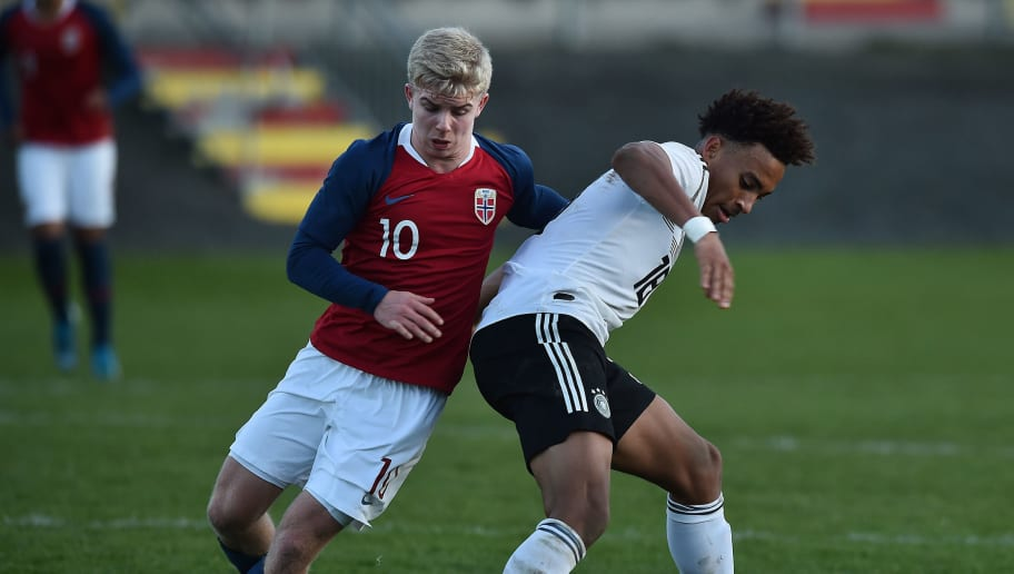 U19 Germany v U19 Norway - U19 Four-Nations Tournament