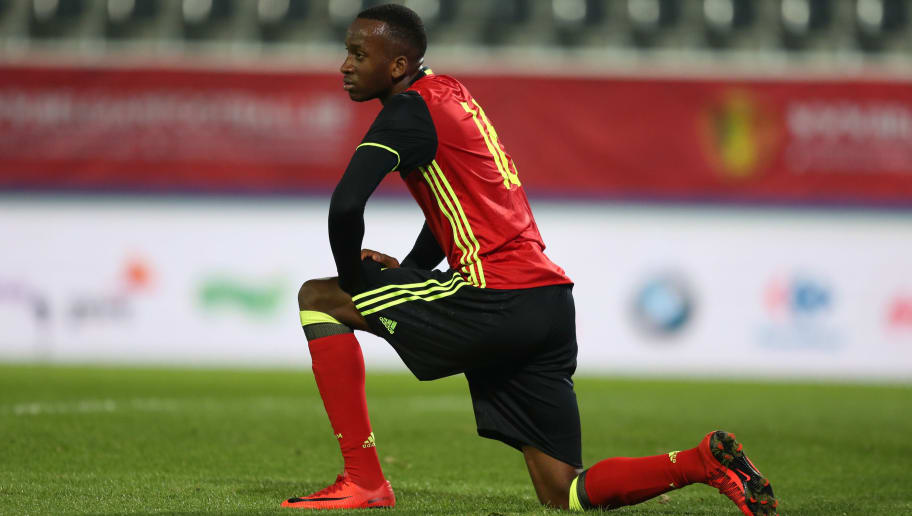 20171109 - Leuven, Belgium / Uefa U21 Euro 2019 Qualifying Group 5 : Belgium v Cyprus / 'nDodi LUKEBAKIO'nPicture by Vincent Van Doornick / Isosport