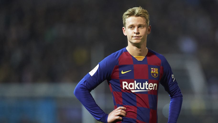 Frenkie De Jong Reveals the Trophy That He Wants to Win Most With ...