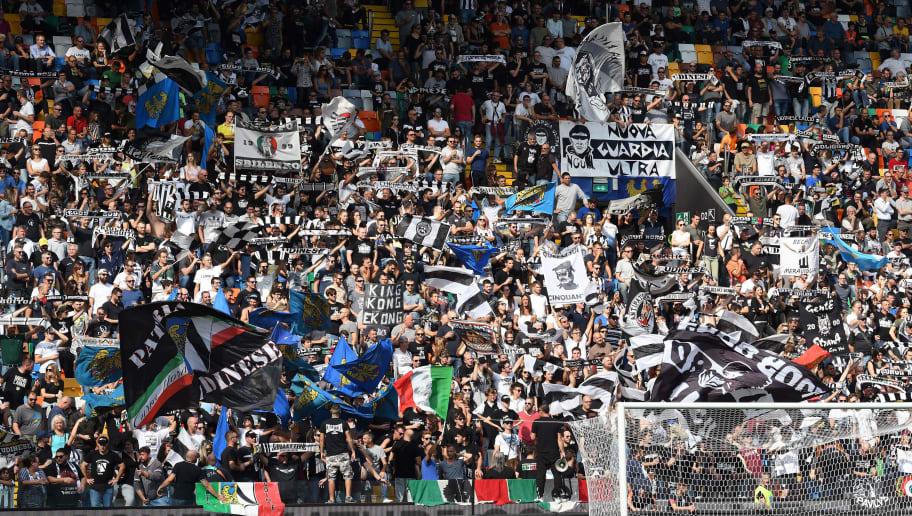 Udinese Calcio fans