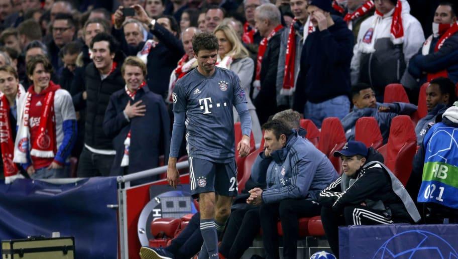 UEFA Champions League'Ajax Amsterdam v Bayern Munich'