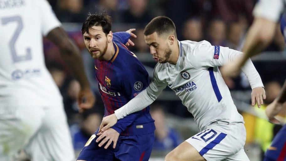 UEFA Champions League'FC Barcelona v Chelsea FC'