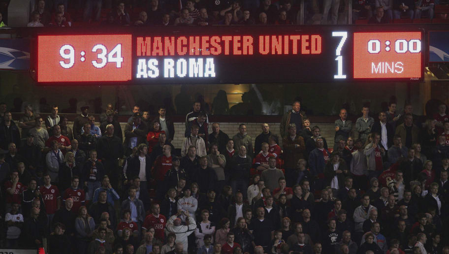 UEFA Champions League Quarter Final: Manchester United v AS Roma
