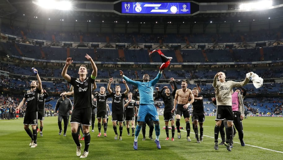 "UEFA Champions League""Real Madrid v Ajax"""