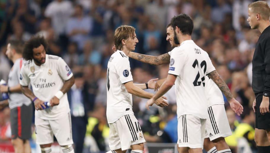 UEFA Champions League'Real Madrid v AS Roma'
