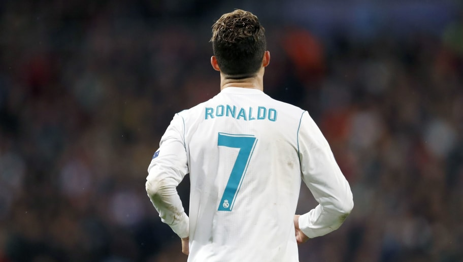 Cristiano Ronaldo of Real Madrid during the UEFA Champions League quarter final match between Real Madrid and Juventus FC at the Santiago Bernabeu stadium on April 11, 2018 in Madrid, Spain(Photo by VI Images via Getty Images)