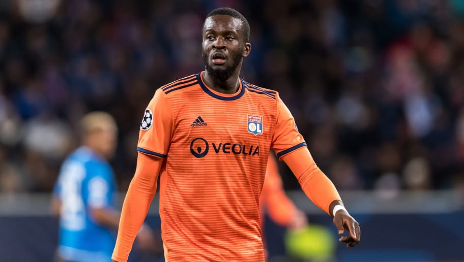 Tanguy Ndombele of Olympique Lyonnais during the UEFA Champions League group E match between TSG 1899 Hoffenheim and Olympique Lyonnais at Rhein-Neckar-Arena on October 23, 2018 in Sinsheim, Germany(Photo by VI Images via Getty Images)