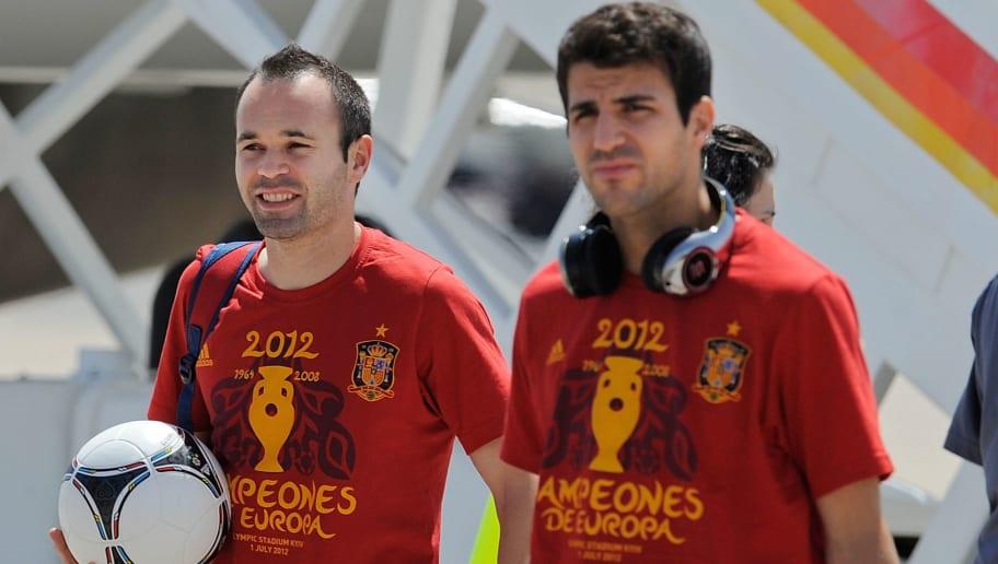 Andres Iniesta,Cesc Fabregas