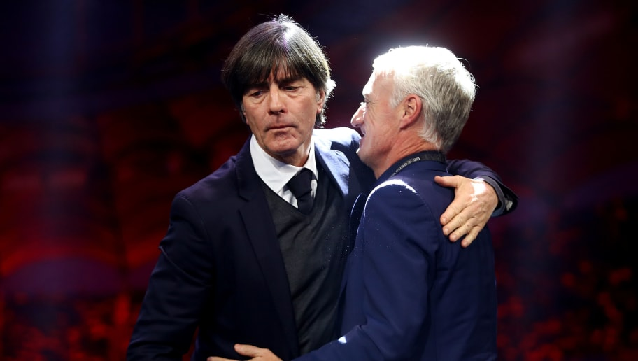 Didier Deschamps,Joachim Loew