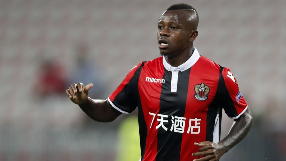 Jean Michel Seri of OCG Nice during the UEFA Europa League group K match  match between OGC Nice and Vitesse Arnhem on September 28, 2017 at the Allianz Riviera in Nice, France(Photo by VI Images via Getty Images)