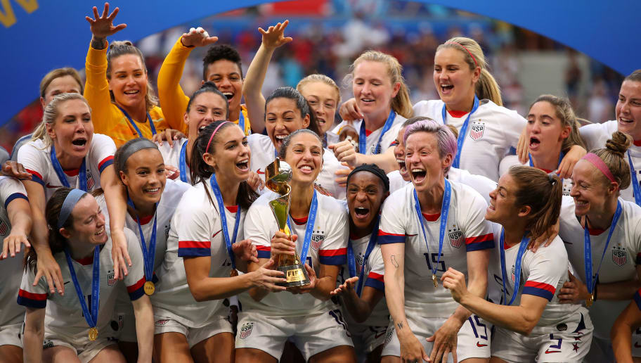 USWNT Collectively Wins TIME Magazine's 2019 Athlete of the Year Award