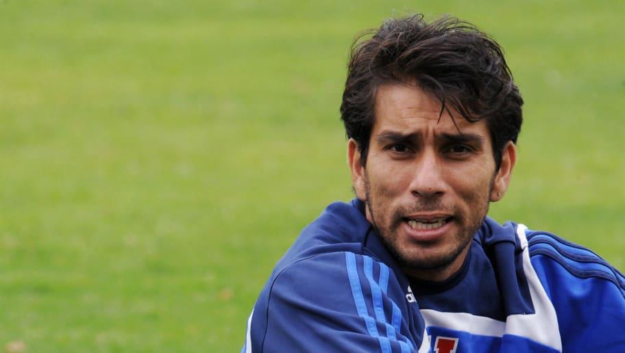 Universidad de Chile players Nelson Cuev